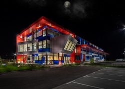 Actual Industries  Ltd. – Commercial building for industrial products and offices