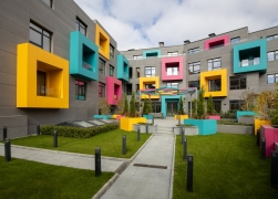 Appartment building   ColourCode