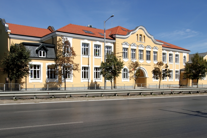 """""""Reconstruction of a two-storey municipal building with attics and an extension of an elevator for a school building at 43 Hristo Smirnenski Primary School"""""""