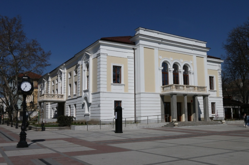 """Conservation, restoration and exhibition of the building of the Municipal Drama Theater """"Vida"""" and shaping the surrounding area  """