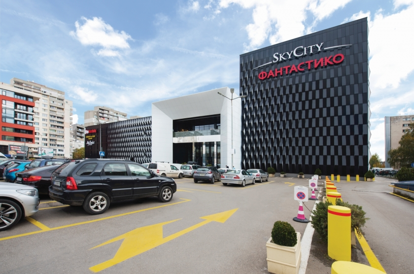 Sky City Mall - facade reconstruction