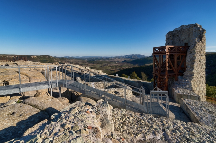 Conservation and restoration works and exhibition of ancient and medieval city of Perperikon  by  the project:  Perperikon - Past for Future