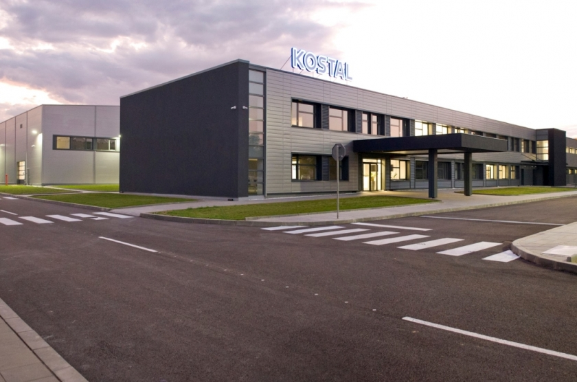 Factory plant for high-tech components for automobiles Kostal